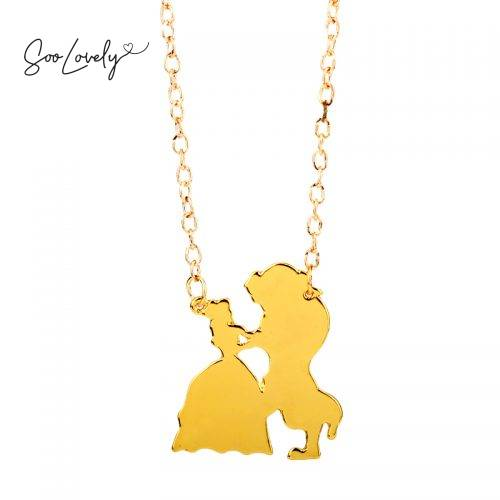Beauty and the Beast ketting-K042