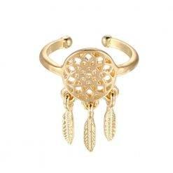 Dromenvanger ring goud-R024