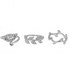 Leaf ring set-R012
