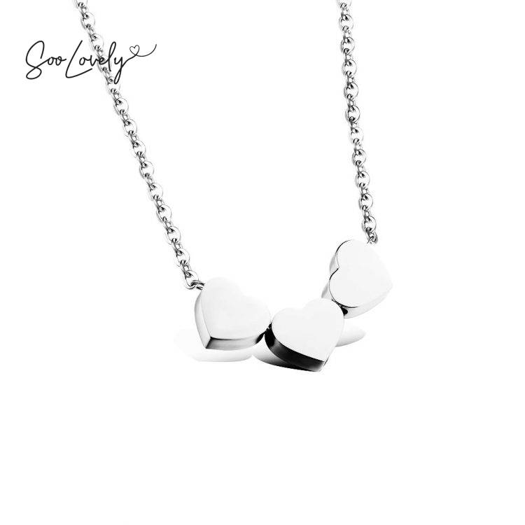 Little hearts ketting-K061