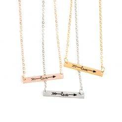 Love bar ketting-K058