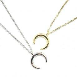 Moon crescent ketting-K004