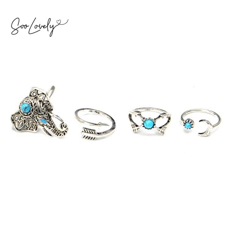 Olifant ring set-R031