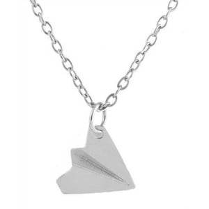 Paper airplane ketting-K053