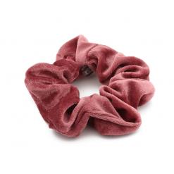 Scrunchie velvet roze-SC005