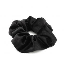 Scrunchie velvet zwart-SC007