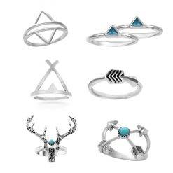 Triangel ring set-R016