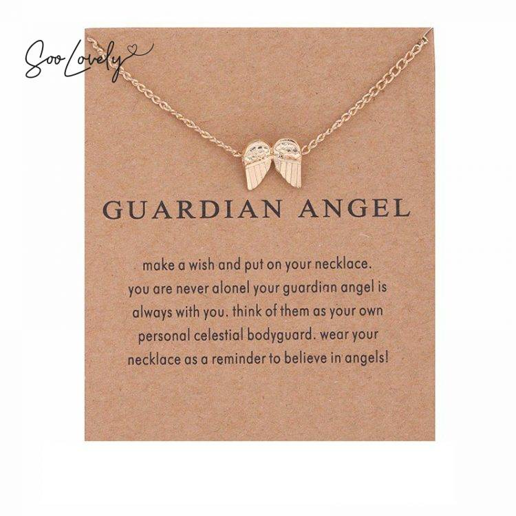 Vleugels ketting 'GUARDIAN ANGEL'-TS048