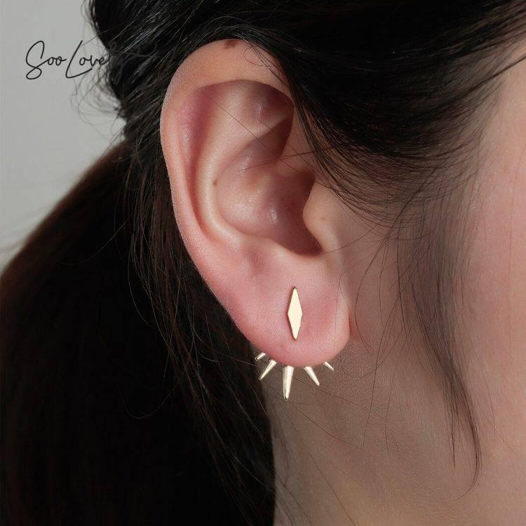 Spikes oorbellen