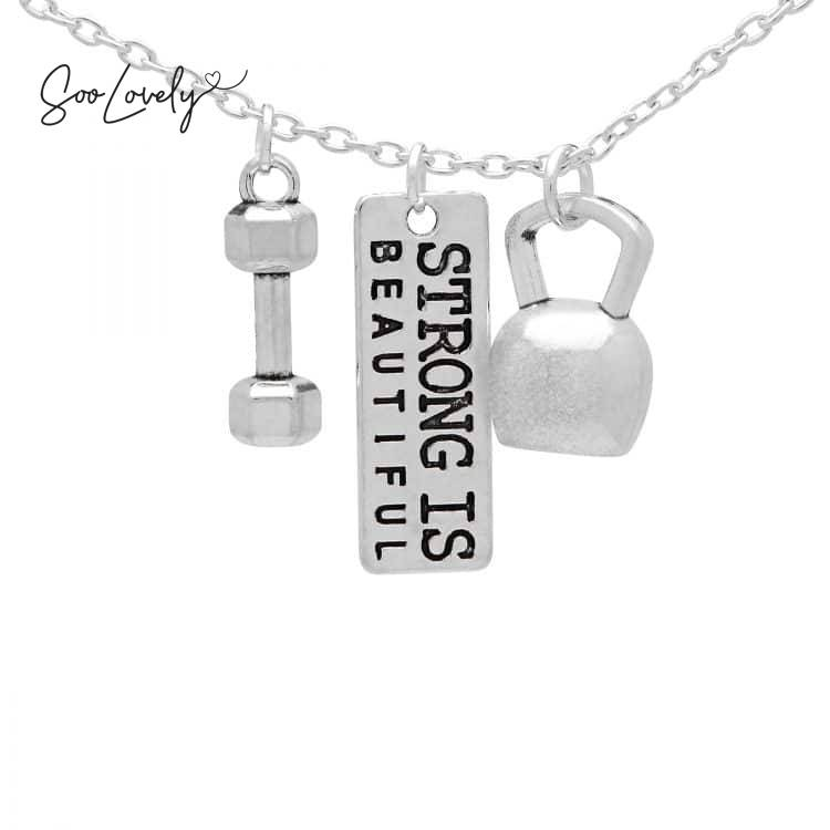 Strong is beautiful ketting