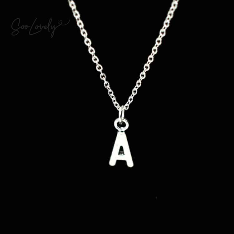 ketting met letter A