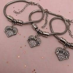 3 sisters charm armbanden