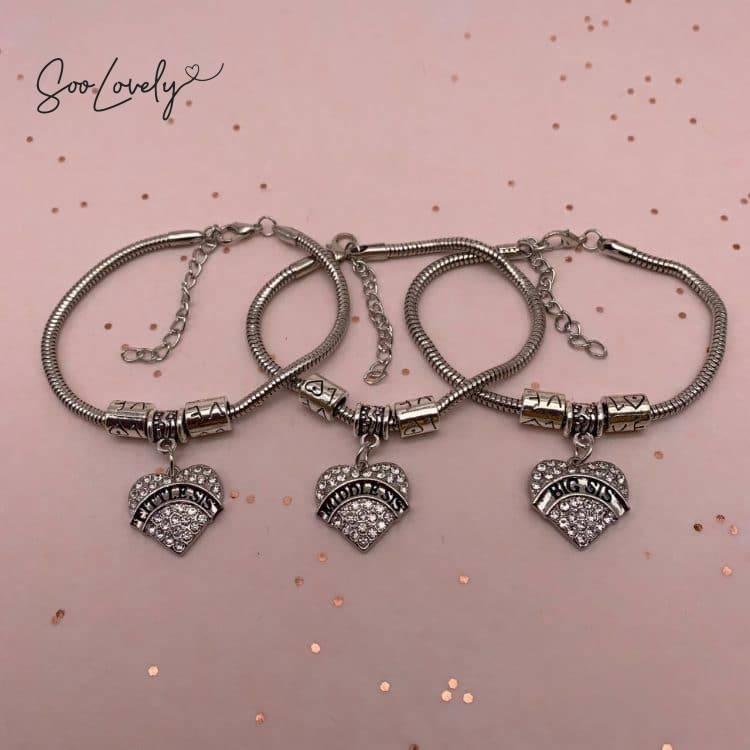 3 sisters charm armbanden