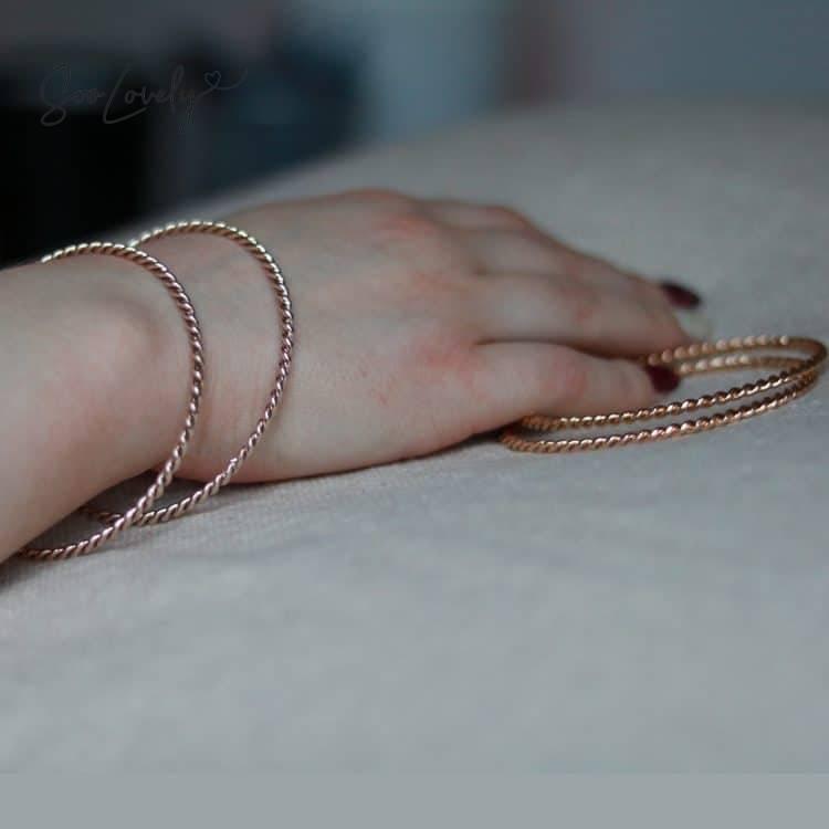 Gedraaide armband