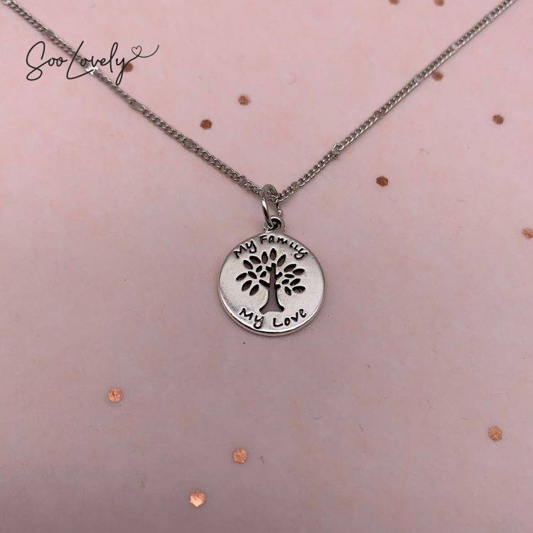 Family tree ketting