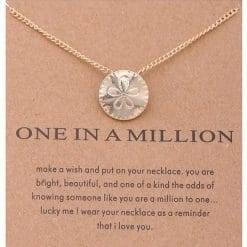 ONE in a MILLION ketting
