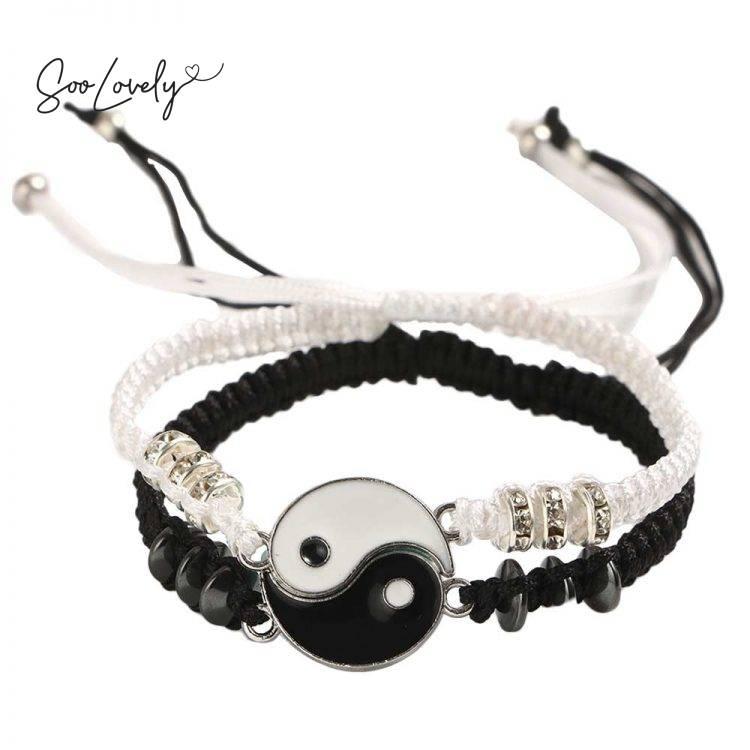 Yin Yang armbandenset