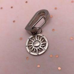 Zon sleutelhanger clip