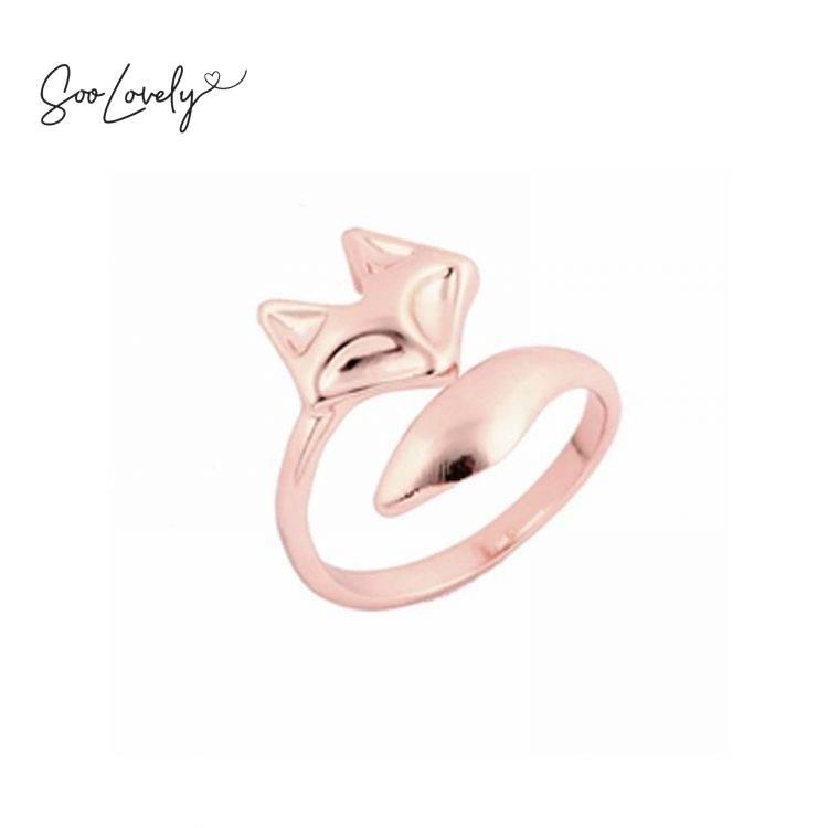 Feeling foxy ring rose gold-R037