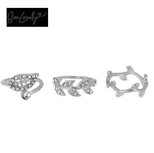 Leaf ring set-R012
