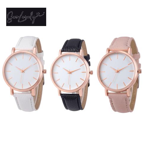 Minimalistisch horloge-H027