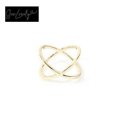 X ring goud-R007