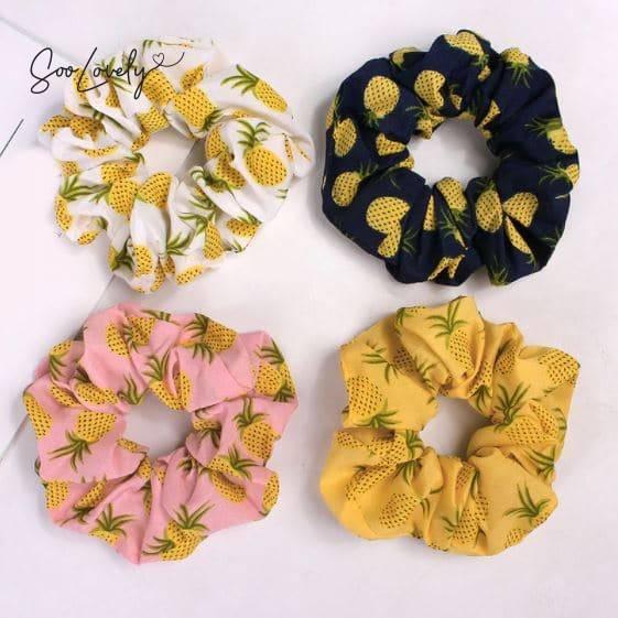 Ananas scrunchie