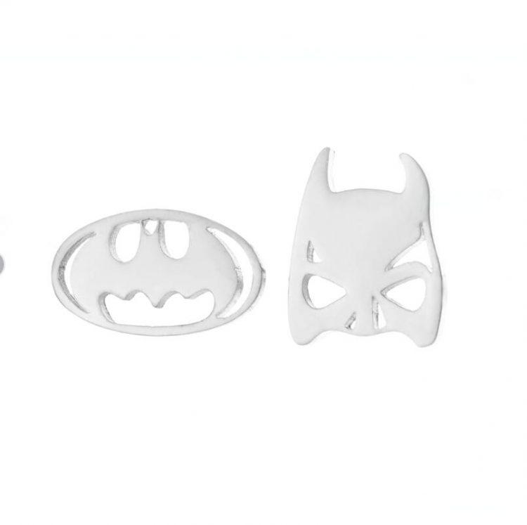 Batman oorbellen
