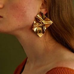 folded oorbellen