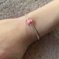 Hartjes charm armband