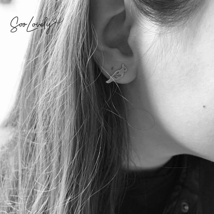 Kaketoe oorbellen