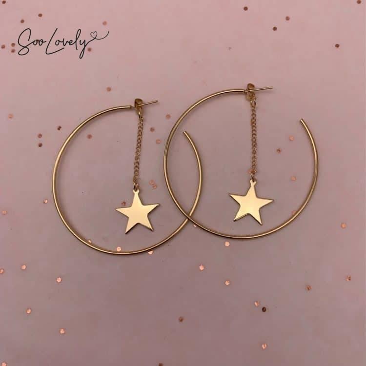 Oorringen met ster